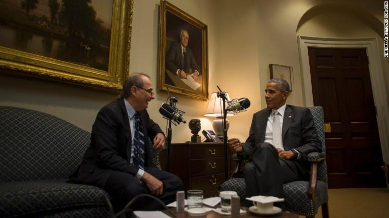 David Axelrod + Obama