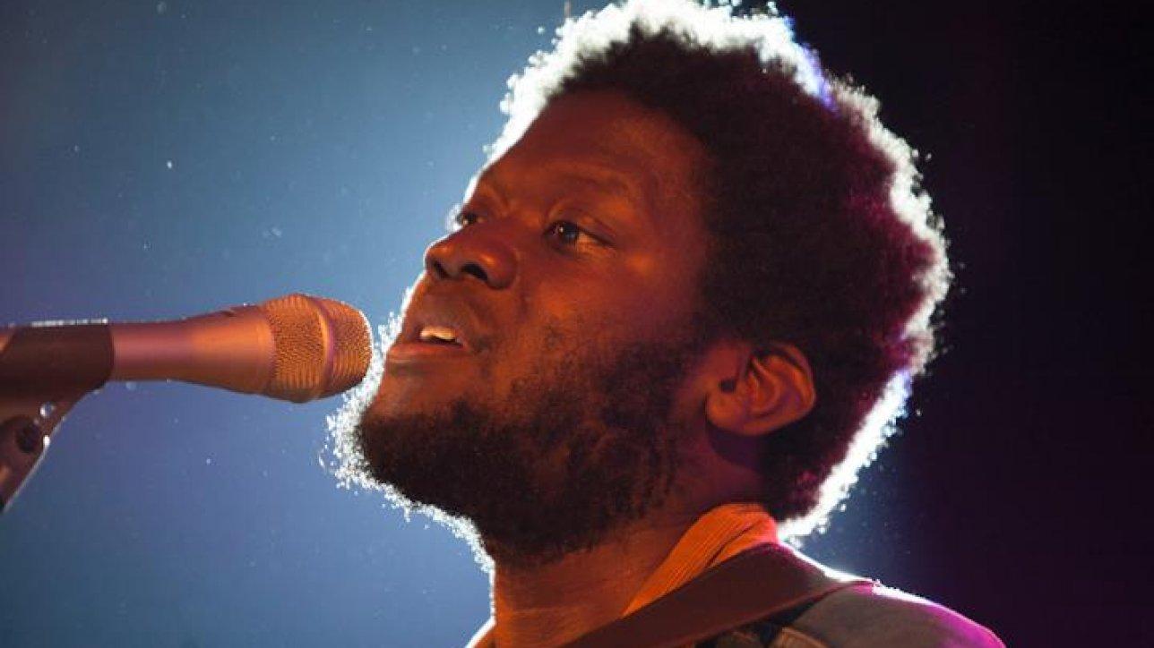 Michael_Kiwanuka performing at the Montreux Jazz Festival