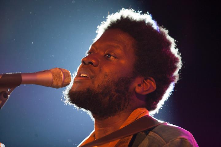 Michael Kiwanuka performing at the Montreux Jazz Festival