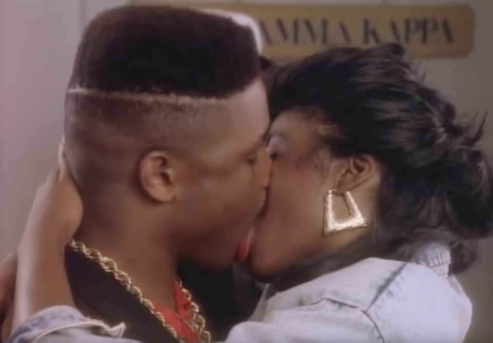 """Biz Markie - """"Don't ever talk to a girl who says she just"""