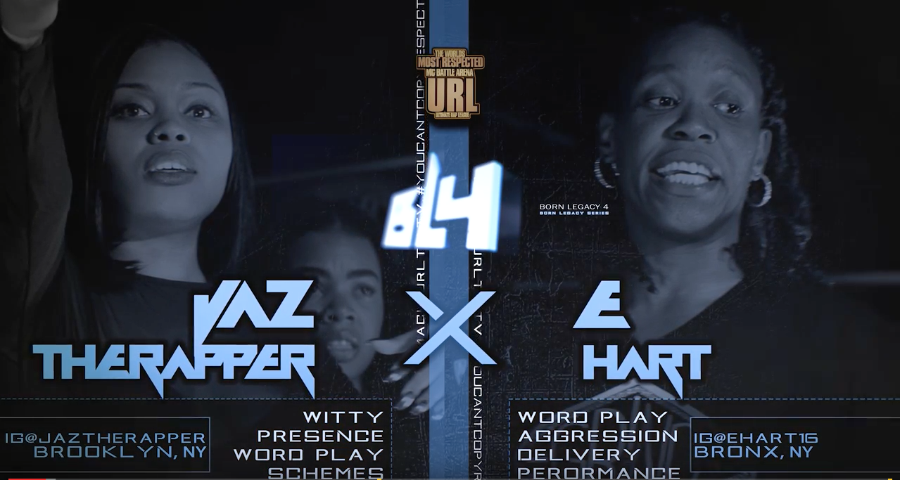 E-Hart versus Jaz the Rapper