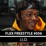 Rapper J.I.D drops innovative rhymes on Funk Flex's #Freestyle056
