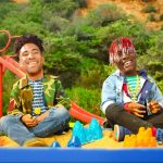 "Rapper KYLE and Lil Yachty star in an innovative music video for ""iSpy"""