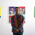 "Alim Smith is set to display his ""Get Out"" Solo Art Exhibition at the National Black Theatre in Harlem"