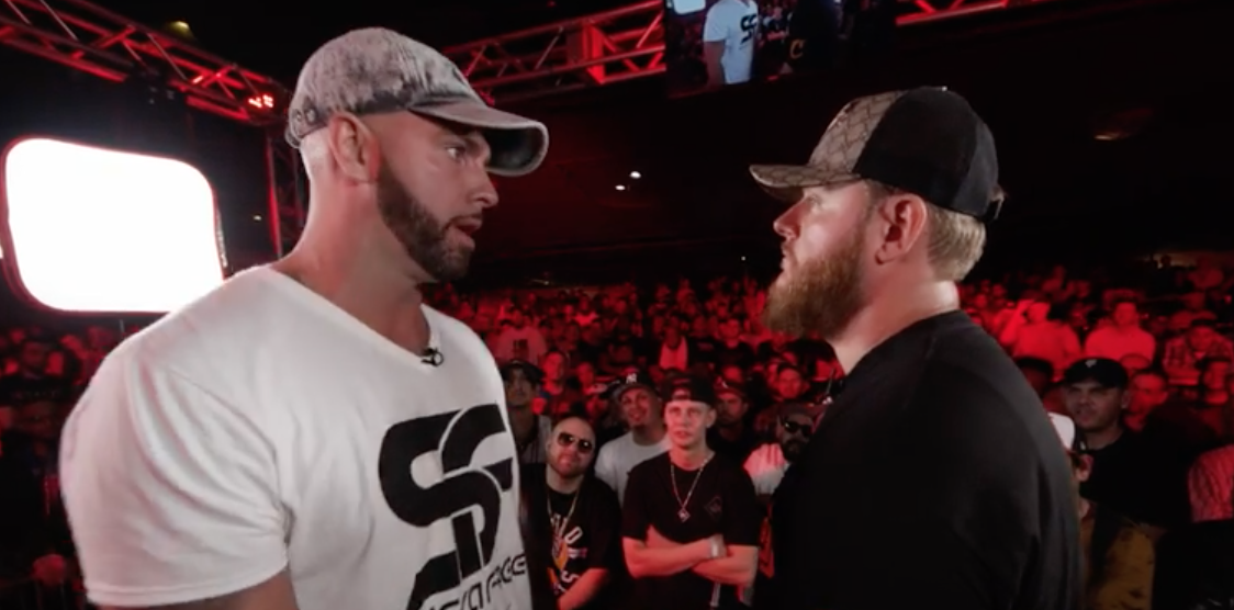 Pat Stay versus Bigg K battle at King of the Dot's MASS3 event
