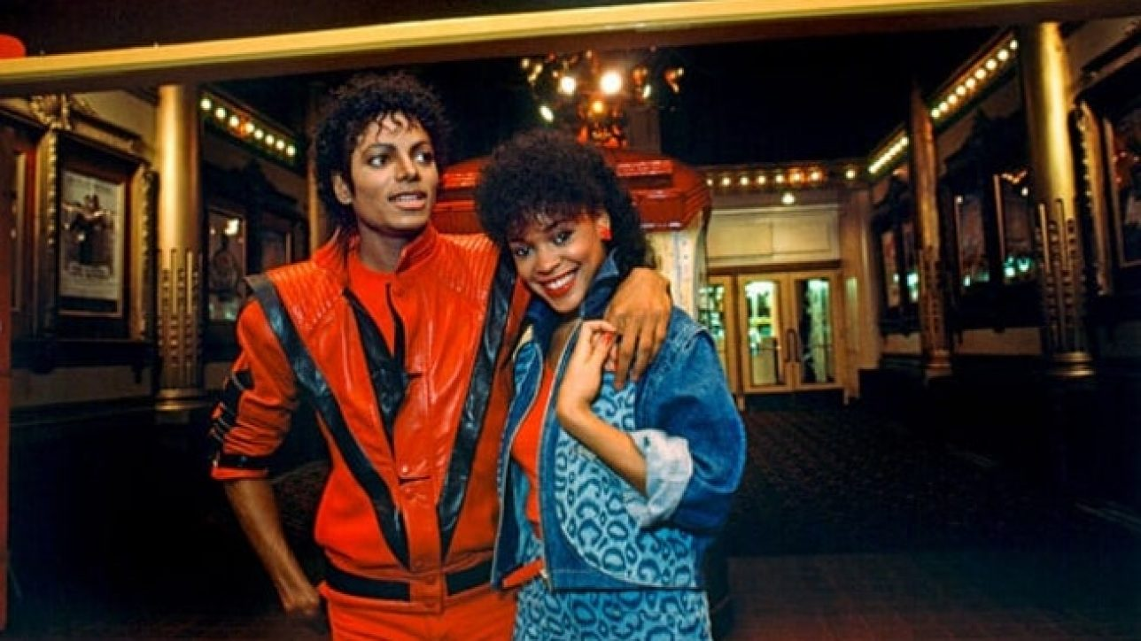 "Michael Jackson in ""Thriller"" music video"