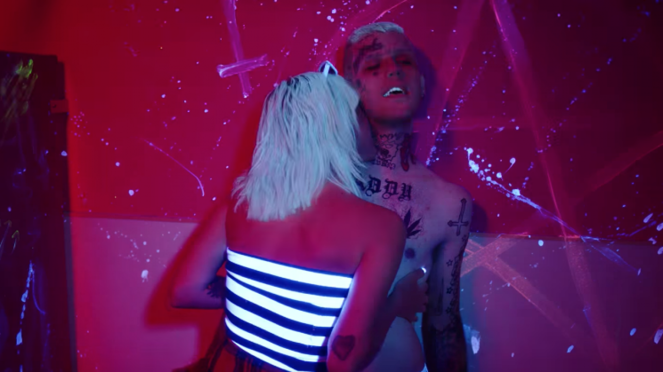 Lil Peep Stars In A Music Video For Awful Things Ft Lil