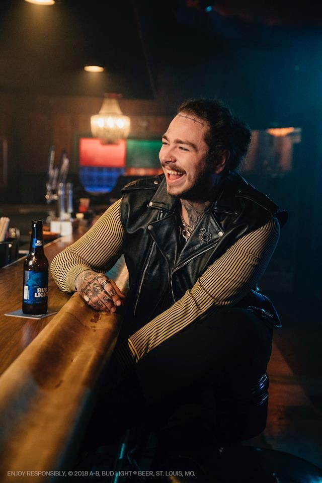 "Post Malone drops his sophomore LP, entitled, ""beerbongs"