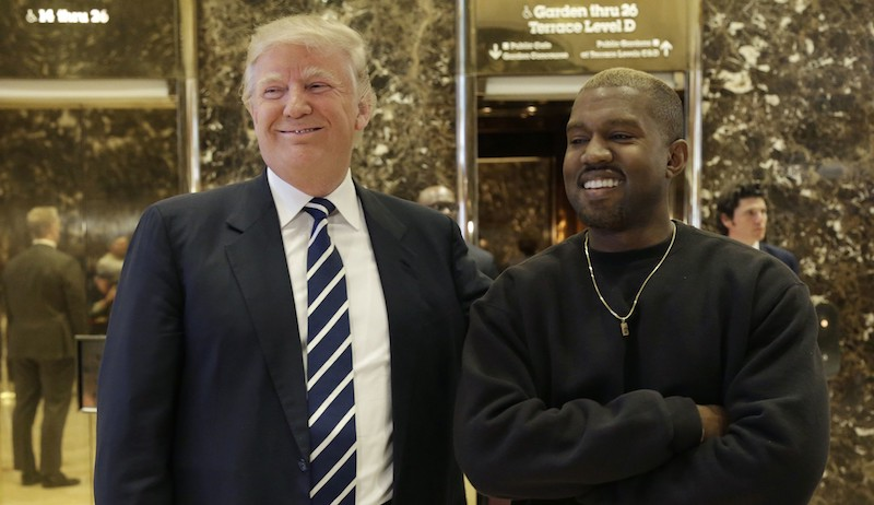 Donald Trump + Kanye West + B Dot