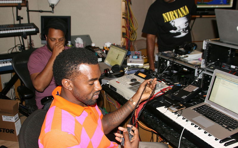 Kanye_West_in_the_Studio + B Dot