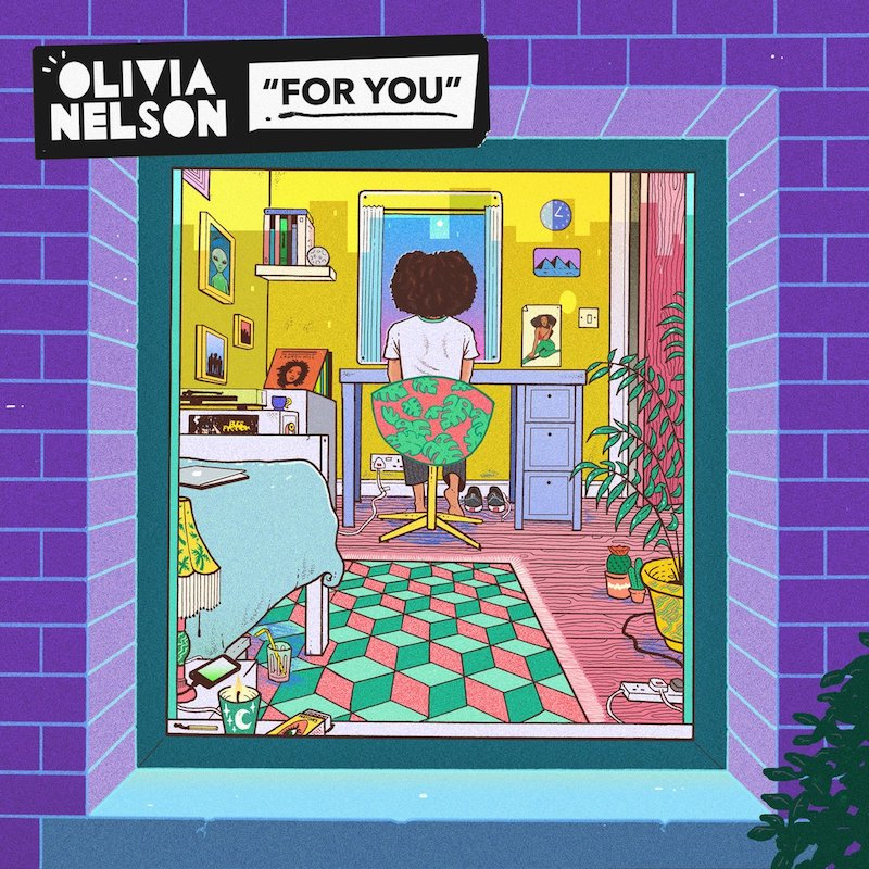 Olivia Nelson - For You EP artwork
