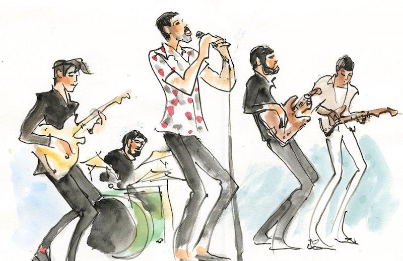 Palmas' Illustation - Bryant Park show