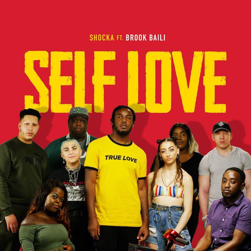 "Shocka - ""Self Love"" artwork"