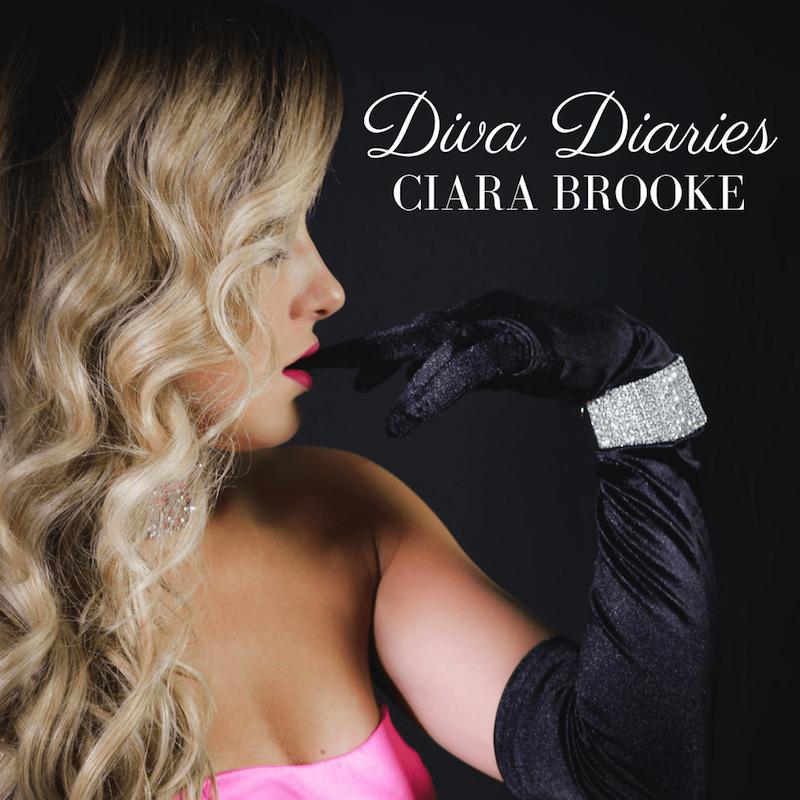 Ciara Brooke + Diva Diaries EP + artwork