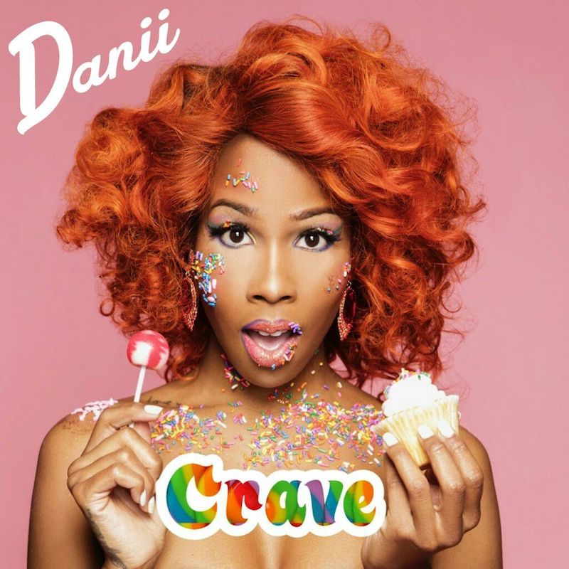 "Danii Roundtree – ""Crave"" artwork"