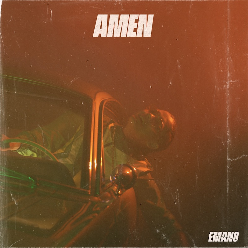 "EMAN8 - ""Amen"" artwork"