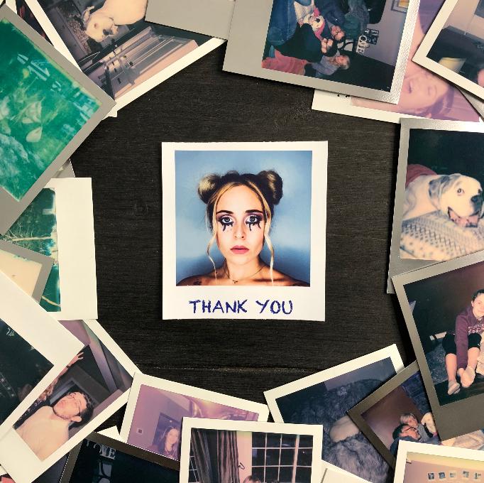 "Madison Olds ""Thank You"" artwork"