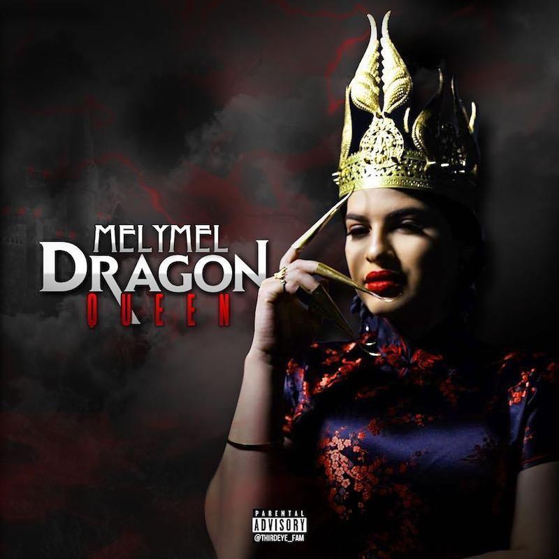 "Melymel - ""Dragon Queen"" artwork"