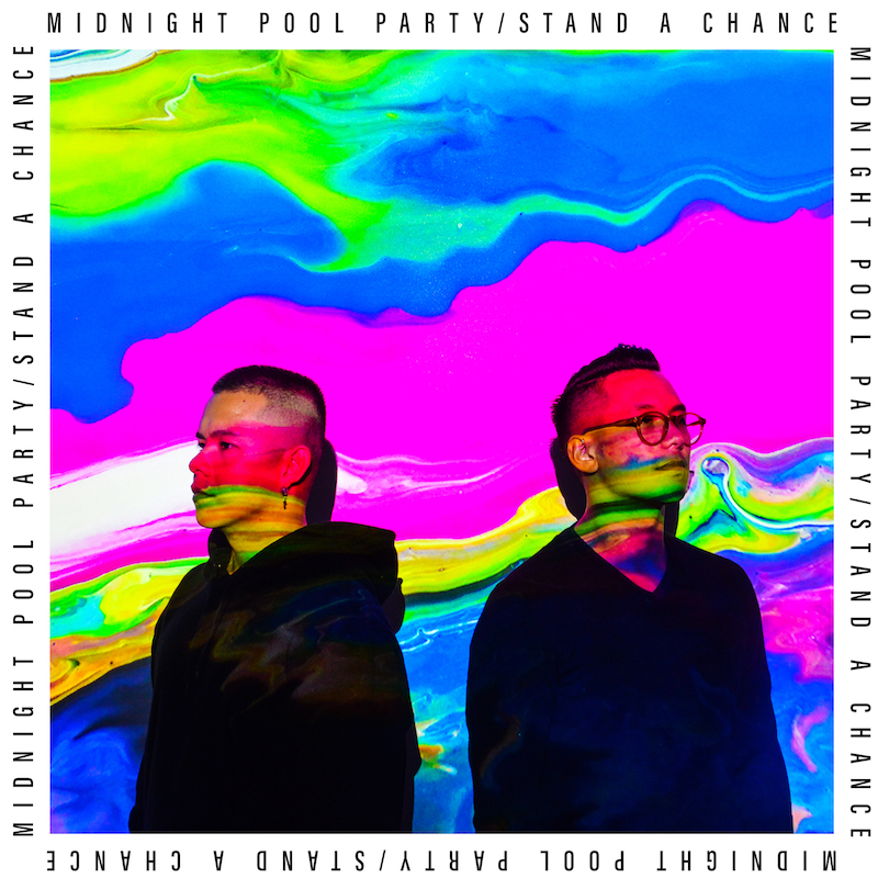 Midnight Pool Party + Stand A Chance_artwork