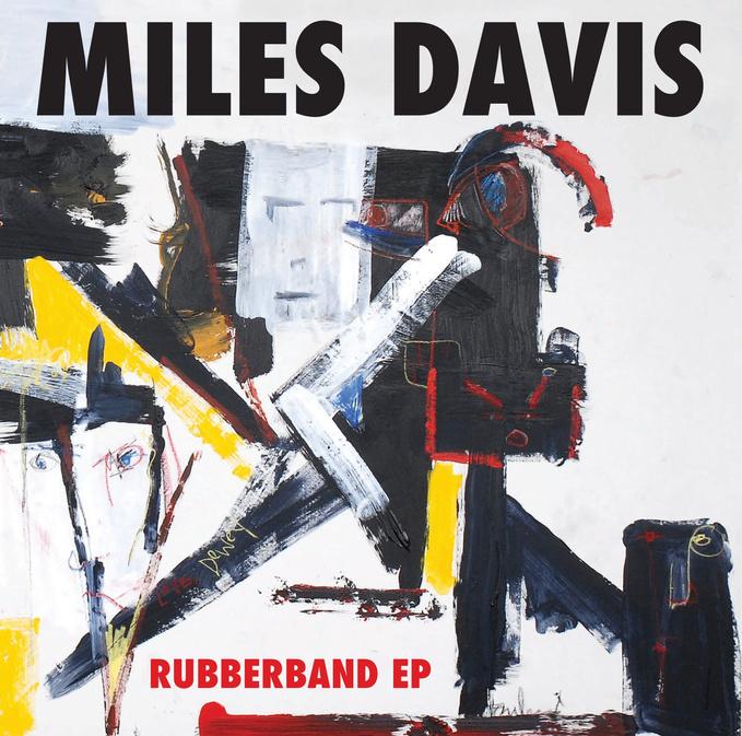 "Miles Davis + ""Rubberband"" artwork"