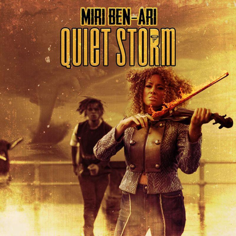 Miri Ben-Ari + Quiet Storm artwork