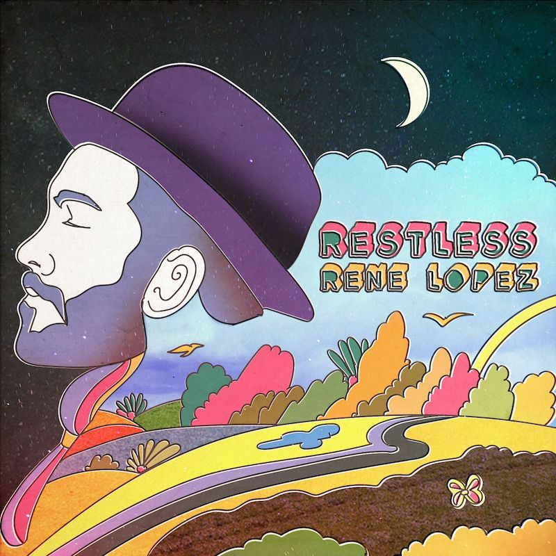 "Rene Lopez – ""Restless"" artwork"
