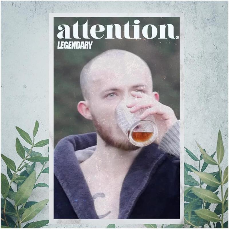 "Attention® - ""Legendary"" artwork"