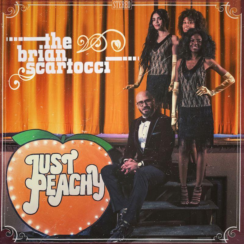 "Brian Scartocci - ""Just Peachy"" artwork"