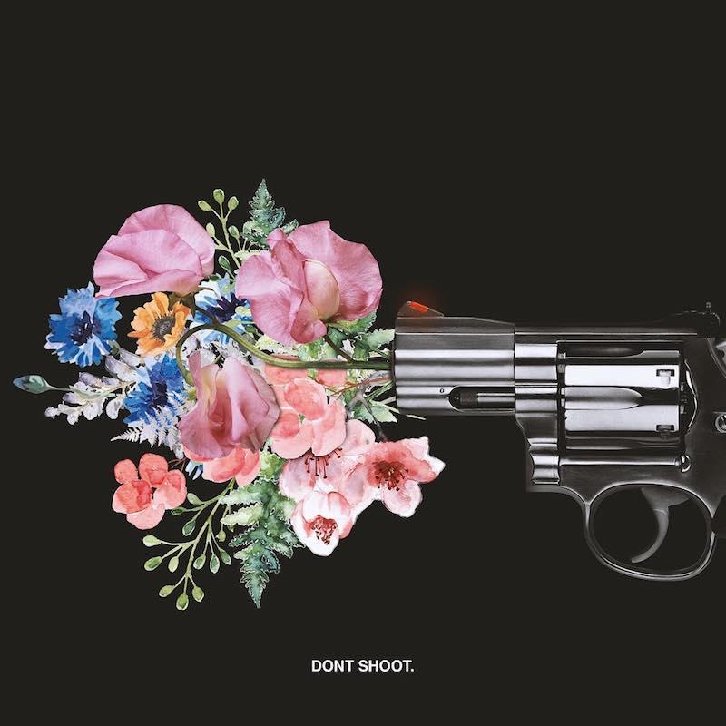 """JaSena Odell – """"Don't Shoot"""" artwork"""