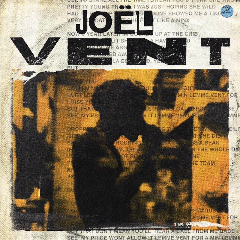 "Joël + ""Vent"" artwork"