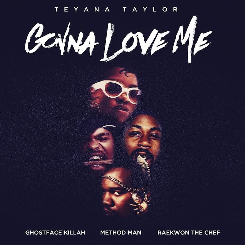"Teyana Taylor – ""Gonna Love Me (Remix)"" artwork"