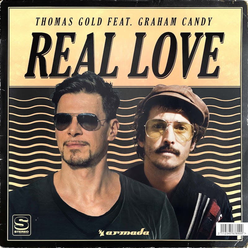 "Thomas Gold – ""Real Love"" featuring Graham Candy artwork"