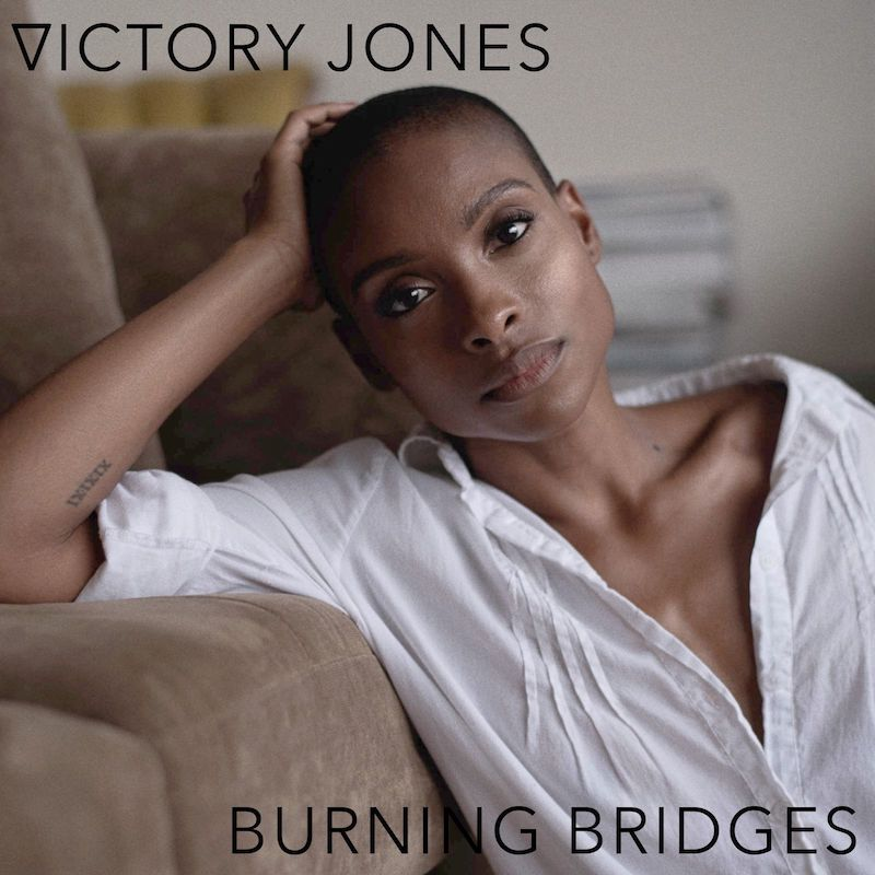"Victory Jones – ""Burning Bridges"" artwork"