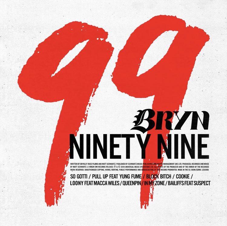 """BRYN – """"99"""" artwork"""