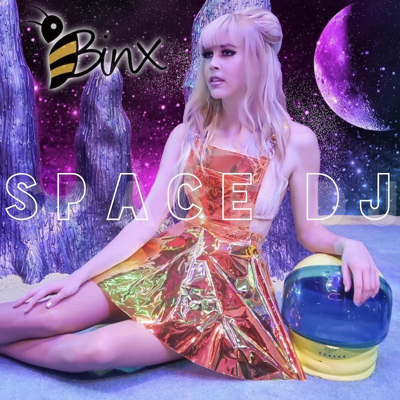 Binx + Space DJ + artwork