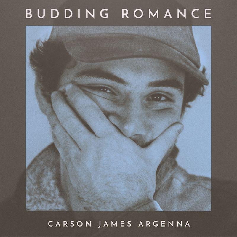"Carson James Argenna – ""Budding Romance"" artwork"