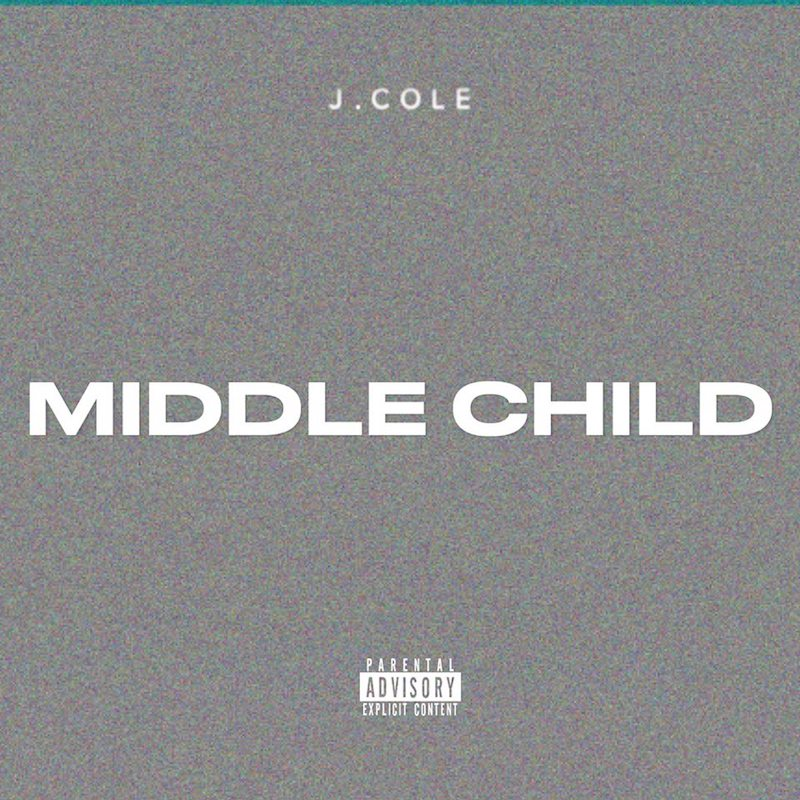 "J. Cole – ""Middle Child"" artwork"