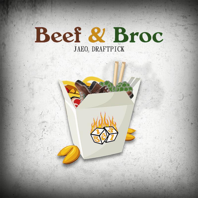 "Jaeo Draftpick - ""Beef & Broc"" artwork"