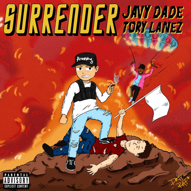 "JavyDade – ""Surrender"" artwork"