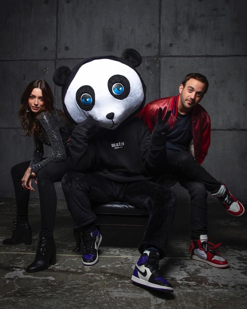 Jayden + Celine Farach + Matluck press photo