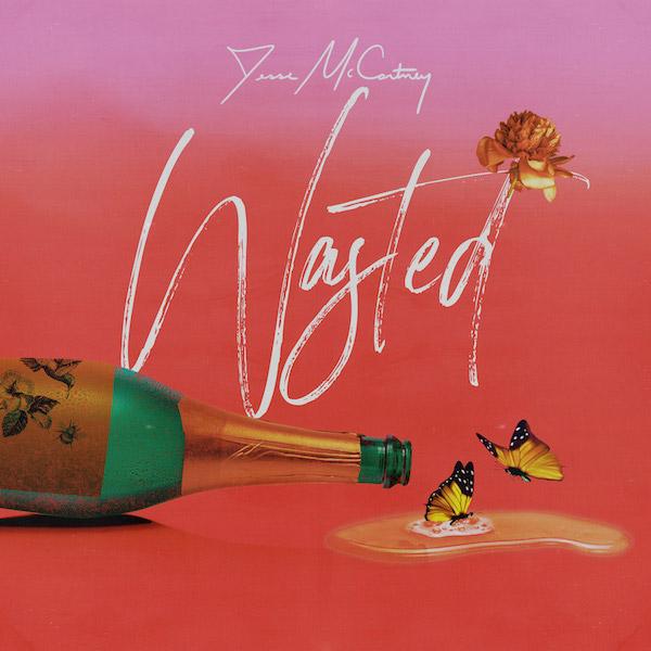 Jesse McCartney + Wasted artwork
