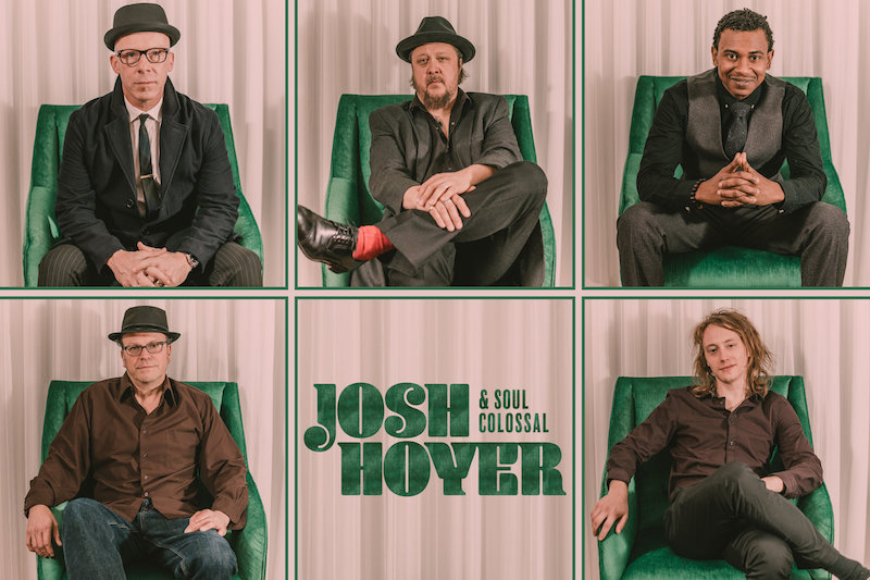 Josh Hoyer & Soul Colossal press photo
