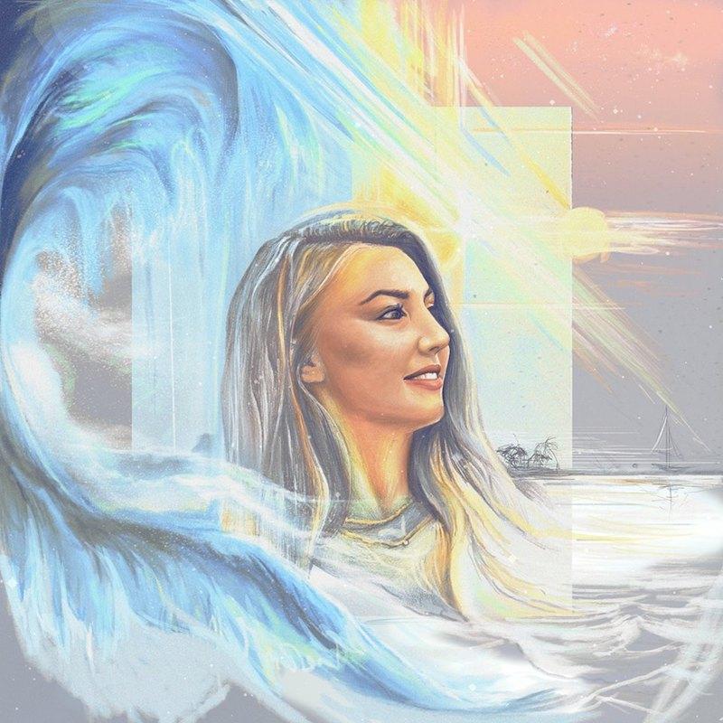 """Lauren Anderton + """"Attention"""" artwork"""