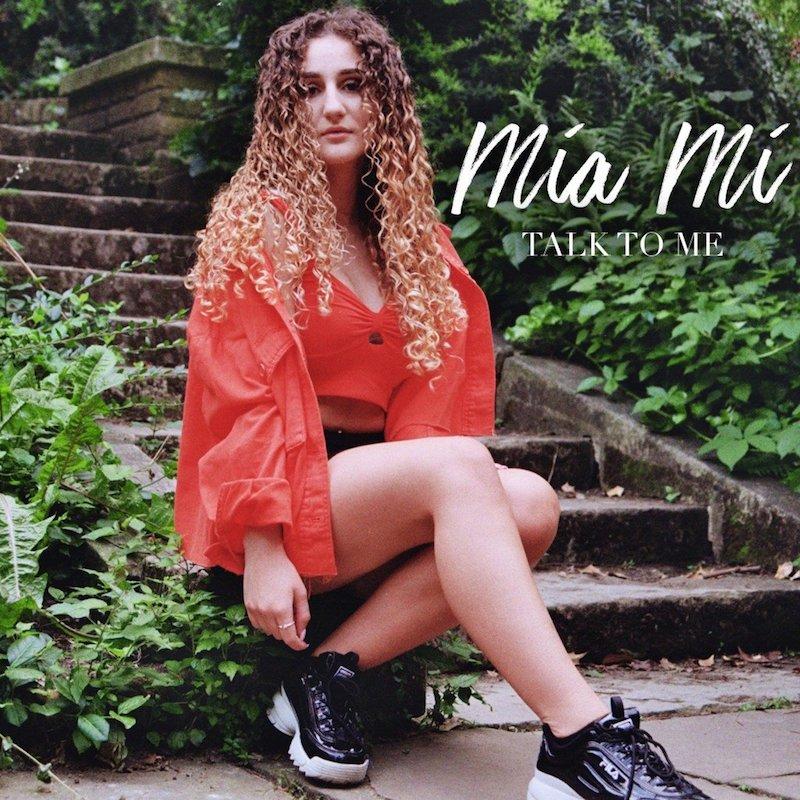 """Mia Mi – """"Talk to Me"""" artwork"""