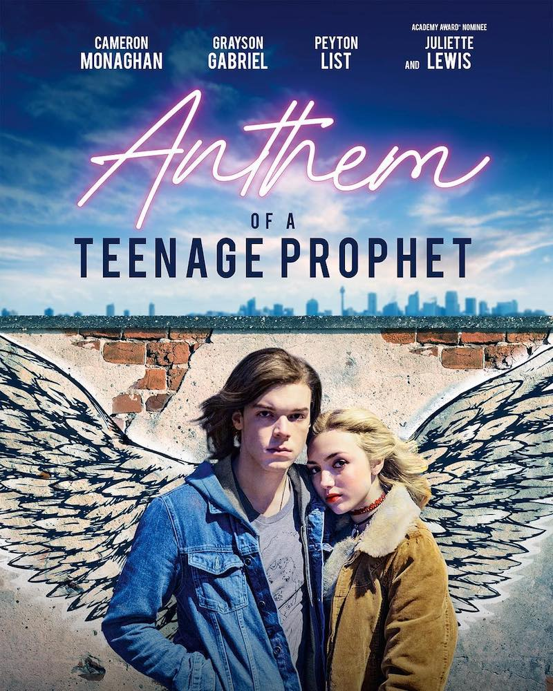 "Peyton List – ""Anthem of a Teenage Prophet"" artwork"