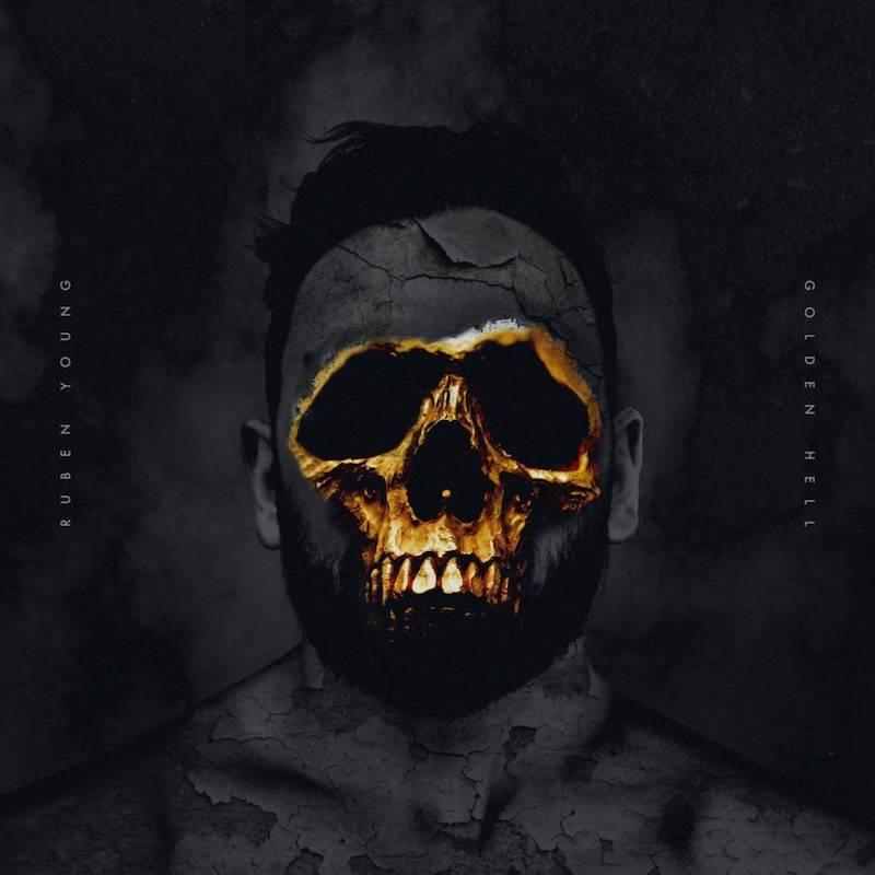"""Ruben Young – """"Golden Hell"""" artwork"""
