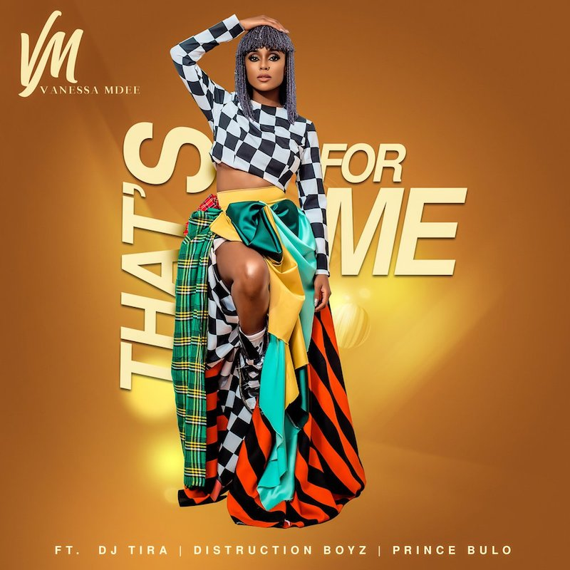 "Vanessa Mdee – ""That's For Me"" artwork"
