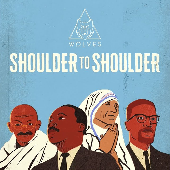 WOLVES shoulder to shoulder artwork